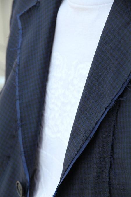 7a98acb6f524b Maison Margiela 立体ラバープリントTシャツ ホワイト このネイビーのセットアップには