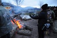 キャンプといえば昔から焚火だよね♪