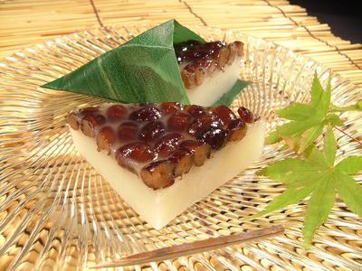 水無月を食べて暑気払い! 水無月販売中です。:田町梅月スタッフブログ ...