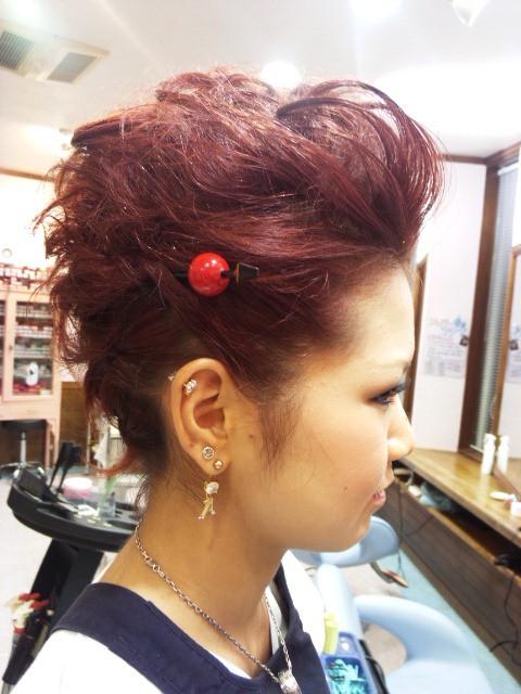 よさこい祭り髪型|巽促足達?? 辿束捉奪?? | Sanpatsu|髪型