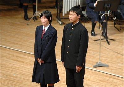 浜名高等学校制服画像