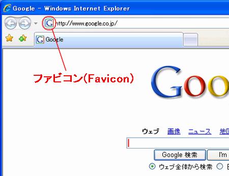「faviconとは」の画像検索結果
