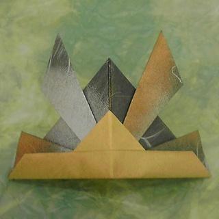 簡単 折り紙 : 折り紙かぶとの折り方 : kamihoajioka.hamazo.tv