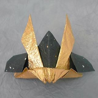 折り紙の 兜の折り紙 : kamihoajioka.hamazo.tv