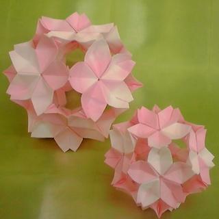 簡単 折り紙:折り紙 桜 立体 折り方-kamihoajioka.hamazo.tv