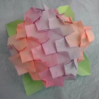 折り 折り紙:折り紙 紫陽花-kamihoajioka.hamazo.tv