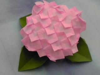 紫陽花(アジサイ)の折り紙│紙 ... : 七夕紙 : 七夕
