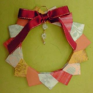 クリスマス 折り紙 折り紙 クリスマスリース : kamihoajioka.hamazo.tv
