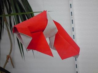 ... 出る 折り 方 です ので 赤 と : 折り紙 こいのぼり 折り方 : 折り方