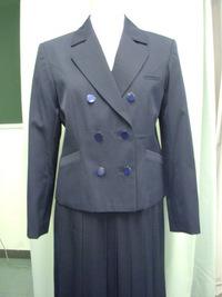 掛川西高等学校制服画像