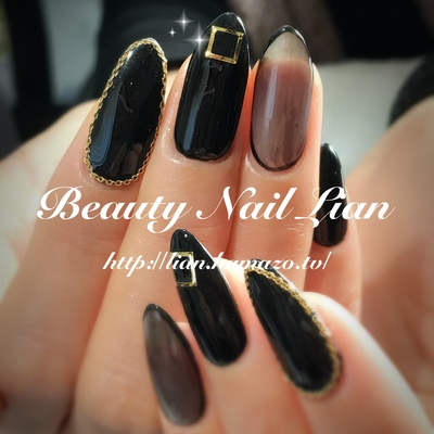 Beauty nail lianblack black voltagebd Gallery