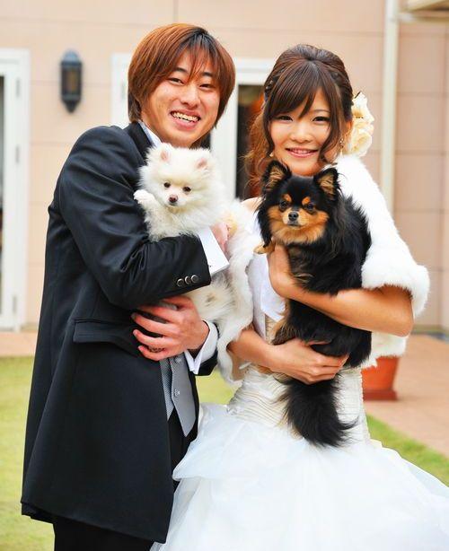 結婚式当日や前撮りなど、自由に行えます。