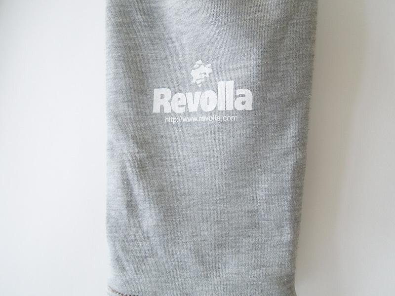 REVOLLA デニム切替えバックスウェットパンツ(デニム×グレー) size:【Girls-M】