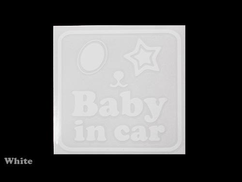 レボラ BABY IN CAR ステッカー