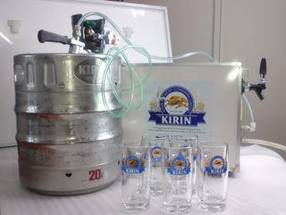 サーバー キリン ビール